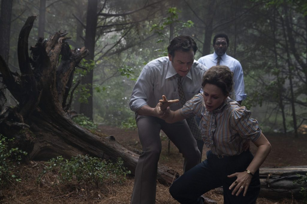 Scene from the movie for the Conjuring 3 Review