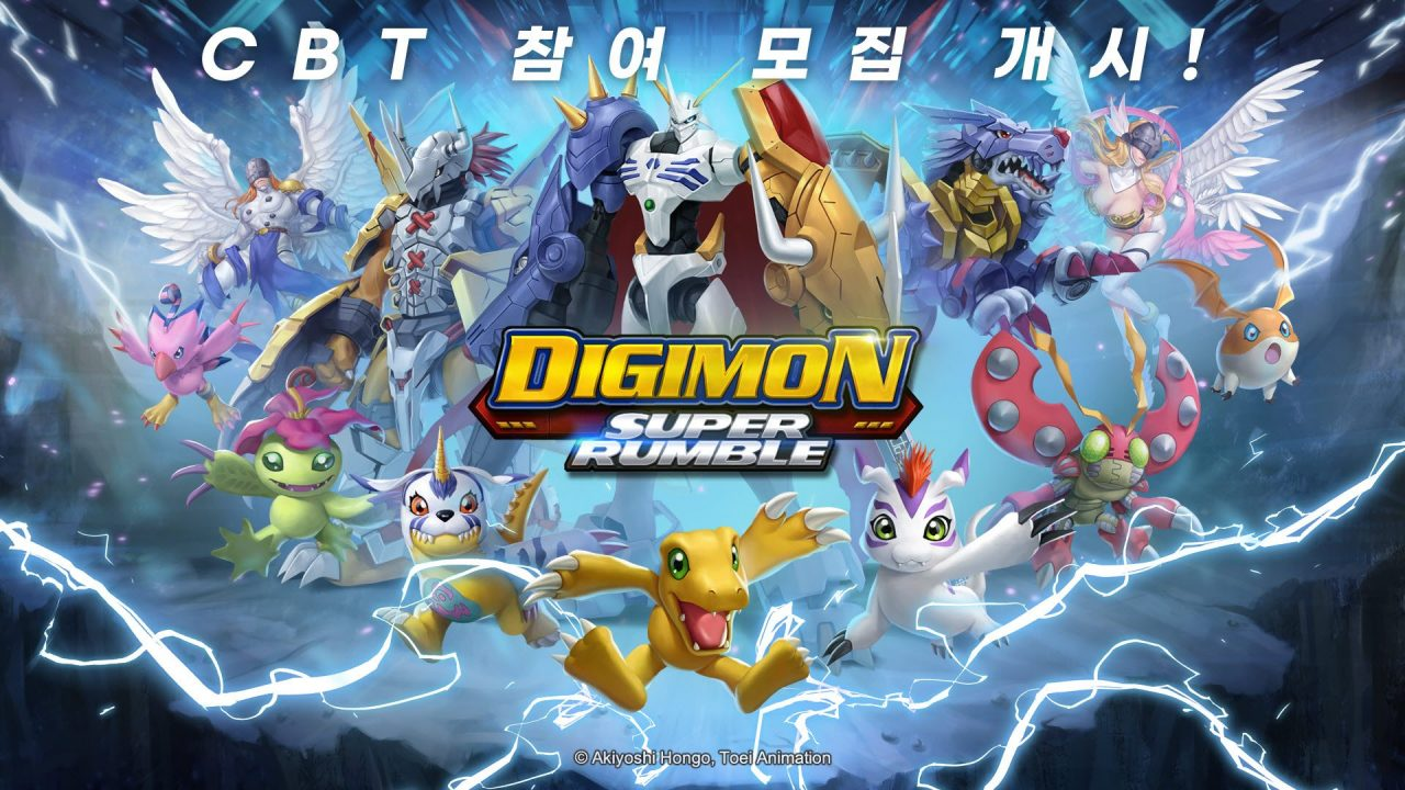 Art for the new MMO Digimon Super Rumble
